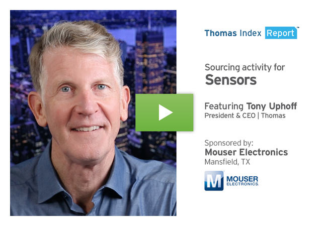 Industry 4.0 Reliance on Sensors Drives Increase in Sourcing