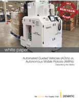 Automated Guided Vehicles (AGVs) vs. Autonomous Mobile Robots (AMRs)