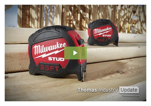 Milwaukee Tool's STUD is One Tough Tape Measure