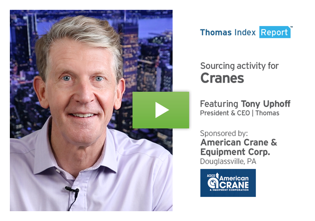 U.S. Economic Boom Heightens Demand for Cranes