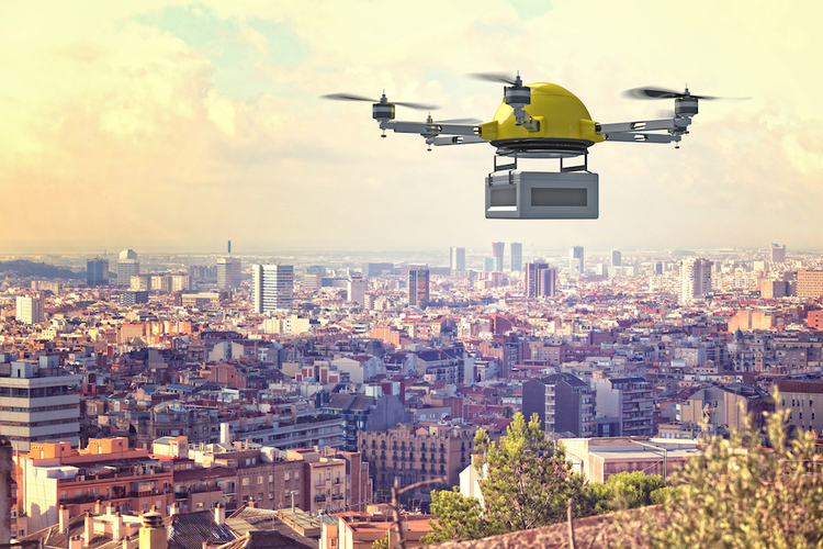 Drone Deliveries Taking Place in U.K. and Bay Area