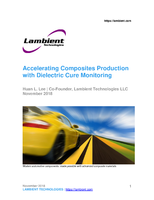 Accelerating Composites Production with Dielectric Cure Monitoring