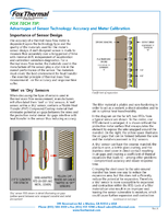 Advantages of Sensor Technology: Accuracy and Meter Calibration