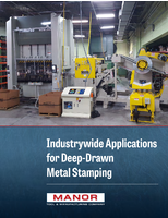 Industrywide Applications for Deep Drawn Metal Stamping