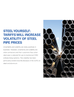 Steel Yourself: Tariffs Will Increase Volatility of Steel Pipe Prices