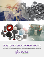 Elastomer Shlastomer, Right? Selecting the Right Elastomer for Your Sealing Boots and Fasteners