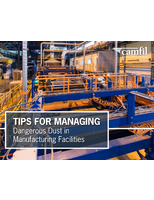 Tips for Managing Dangerous Dust in Manufacturing Facilities