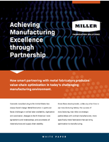 Achieving Manufacturing Excellence through Partnership