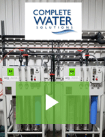 Complete Water Solutions Offers Wide Range of Water Treatment Equipment