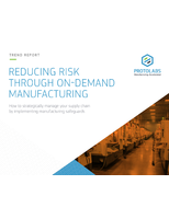 Reducing Risk Through On-Demand Manufacturing
