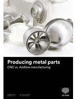 Producing Metal Parts: CNC vs. Additive Manufacturing