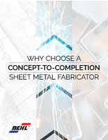 Why Choose a Concept-to-Completion Sheet Metal Fabricator
