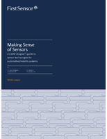 Making Sense of Sensors: A LiDAR Designer's Guide to Sensor Technologies for Automotive/Mobility Systems