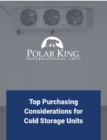 Top Purchasing Considerations for Cold Storage Units