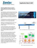 Senix ToughSonic Sensors Used in Hydrofoil Control on Solar Powered Boat