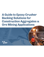 Epoxy Crusher Backing Solutions for Construction Aggregate & Ore Mining Applications