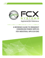 A Reference Guide To Frequency Conversion Power Supplies For Industrial Applications