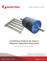 A Definitive Guide to Air Gaps in Magnetic Separation Equipment