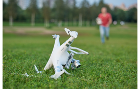 Drone Crashes Not As Dangerous for Humans As Believed