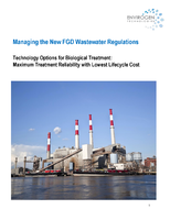 Managing the New FGD Wastewater Regulations