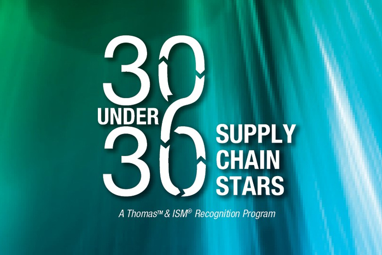 30 under 30 Supply Chain Stars Logo
