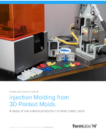Injection Molding from 3D Printed Molds