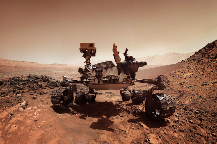 The 'Eyes' Tell Mars Rover's Story