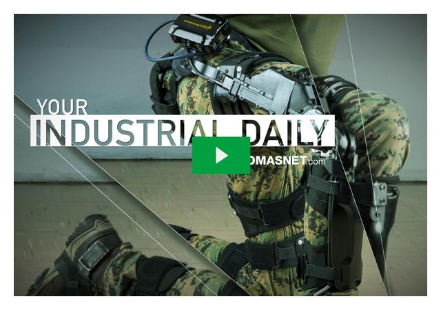 Lockheed's Exoskeletons Take the Load Off of Soldiers