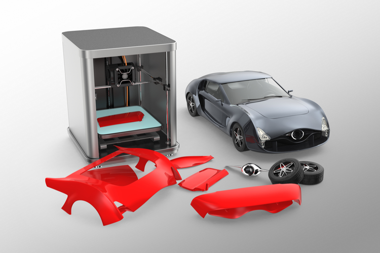 bringing 3d printing to luxury cars. Black Bedroom Furniture Sets. Home Design Ideas