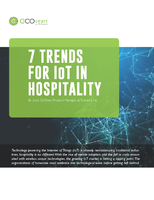 Whitepaper: 7 Trends for IoT in Hospitality