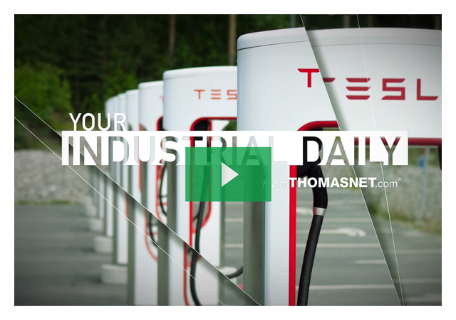 Inside Tesla's Largest Supercharger Station