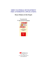 SRBSN Material Development for Automotive Applications