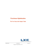 Warehouse Optimization - The Next Step in the Supply Chain