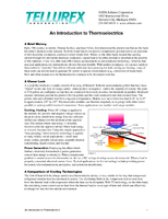 An Introduction to Thermoelectrics