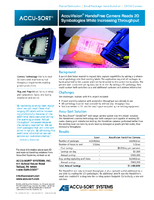 AccuVision® HandsFree Camera Reads 2D Symbologies While Increasing Throughput
