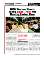 NOW Natural Foods Takes Span-Track for Healthy Carton Flow