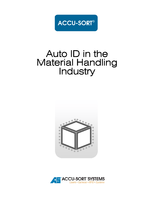 Auto ID in the Material Handling Industry