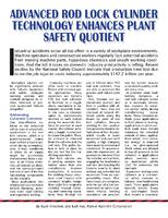 Advanced Rod Lock Cylinder Technology Enhances Plant Safety Quotient