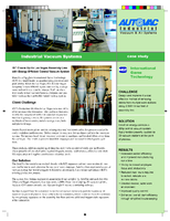 IGT Cleans up Its Las Vegas Assembly Line with Energy-Efficient Central Vacuum System