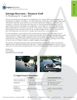 Salvage Recovery - Pleasure Craft