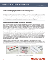 Understanding Optical Character Recognition