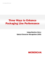 Three Ways to Enhance Packaging Line Performance with Machine Vision OCR