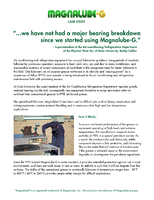 Magnalube-G Reduces Bearing Breakdown at Physical Plant Div. of Duke University