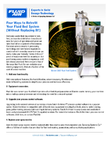 Four Ways to Retrofit Your Fluid Bed System (Without Replacing It!)