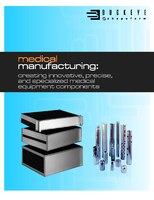 Medical Manufacturing: Creating Innovative, Precise, and Specialized Medical Equipment Components