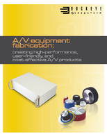 A/V Equipment Fabrication: Creating High-performance, User-friendly, and Cost-effective A/V Products