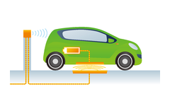 Wireless Charging System for Electric Cars
