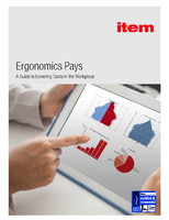 Ergonomics Pays; A Guide to Lowering Costs in the Workplace