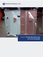 Project: Turnkey Manufacturing of a Cover Assembly