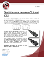 The Difference between C13 and C15